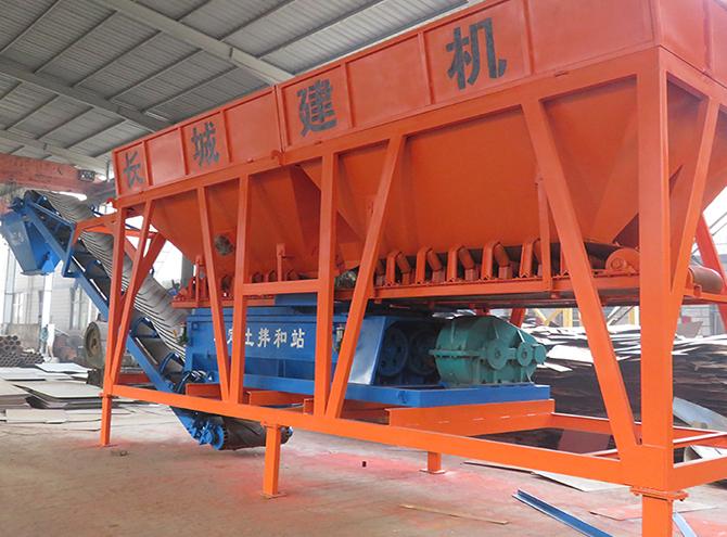 WBZ300系列稳定土拌和站