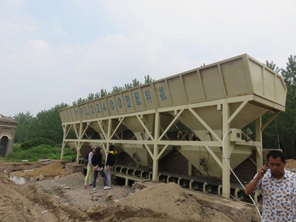 混凝土配料机规格型号及仓数选择