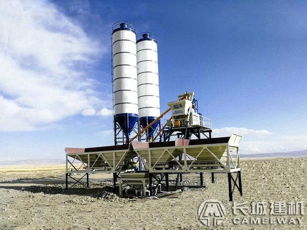 西藏稳定土WBZ500稳定土拌合站