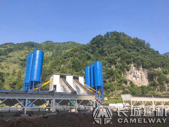 贵州六盘水中水十二局双90混凝土搅拌站