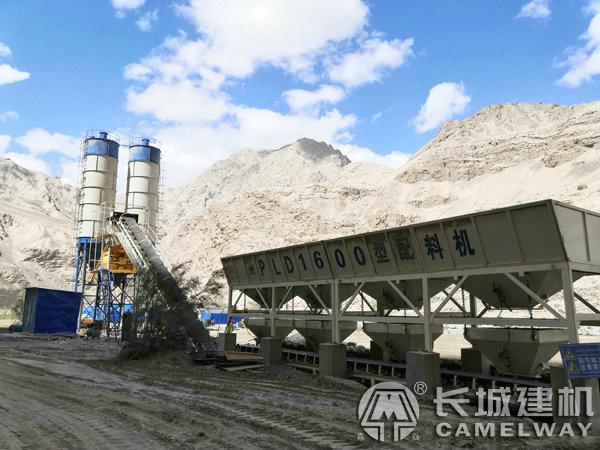 新疆和田60混凝土搅拌站