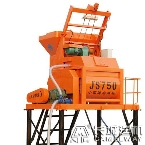 js750强制式双卧轴搅拌机