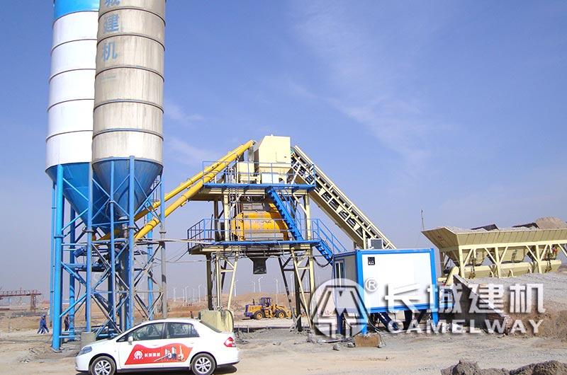 50立方米/小时水泥混凝土拌和设备