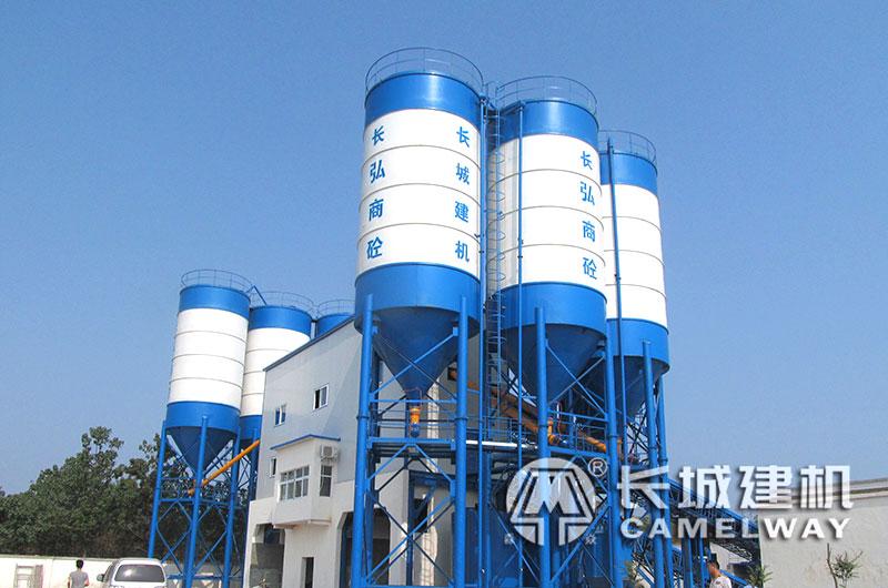 时产500吨水稳拌合站