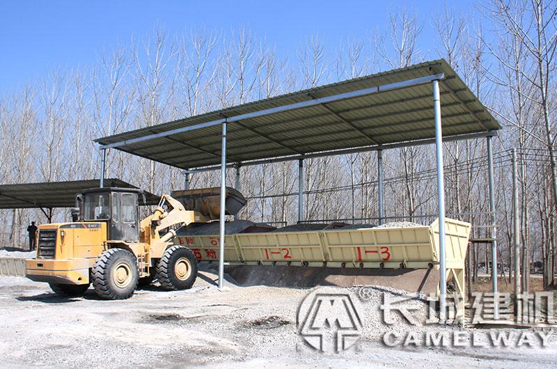 骨料储存与运送系统--砂石配料机