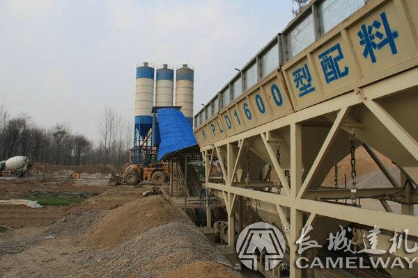 hzs60水泥砼拌合站