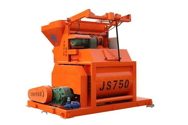 强制js750水泥砼搅拌机
