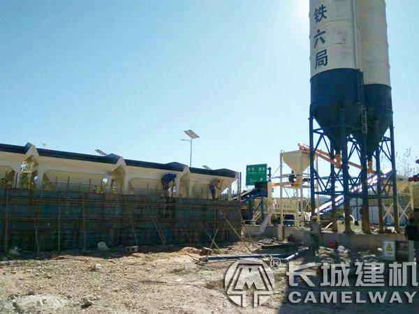 600吨稳定土厂拌设备