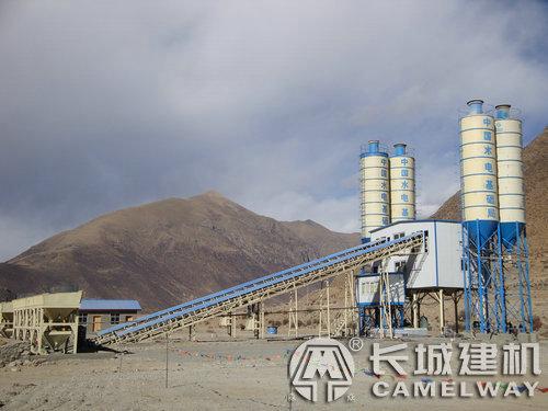 中国水电基础拉萨双90搅拌站