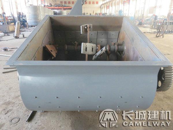 JS500强制式搅拌机内部结构