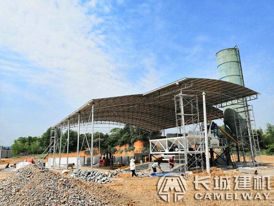 湖北咸宁砖厂35小型搅拌站