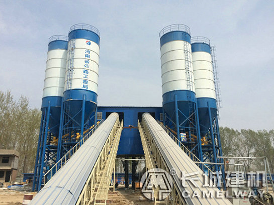 hzs180混凝土生产线