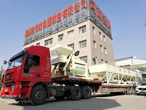 郑州长城建机发货