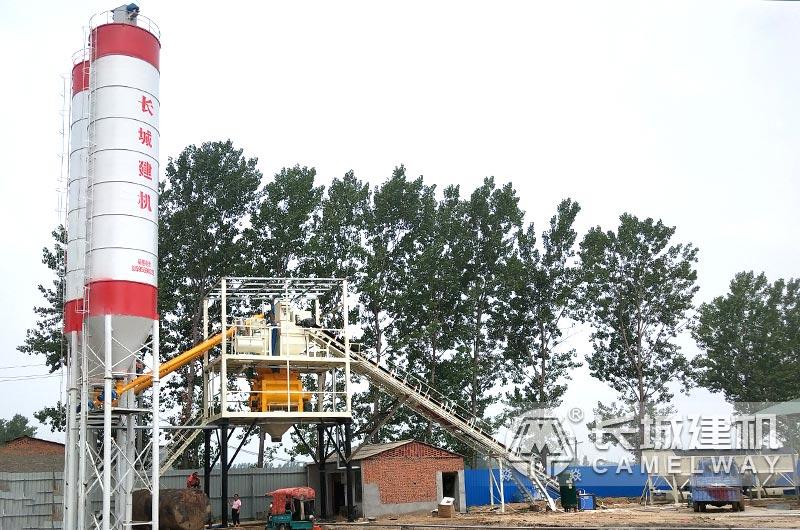 年产20万立方米混凝土搅拌站